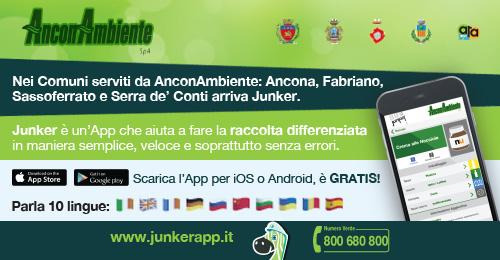Due nuovi strumenti di comunicazione per i cittadini: la APP Junker e il Rifiutologo cartaceo