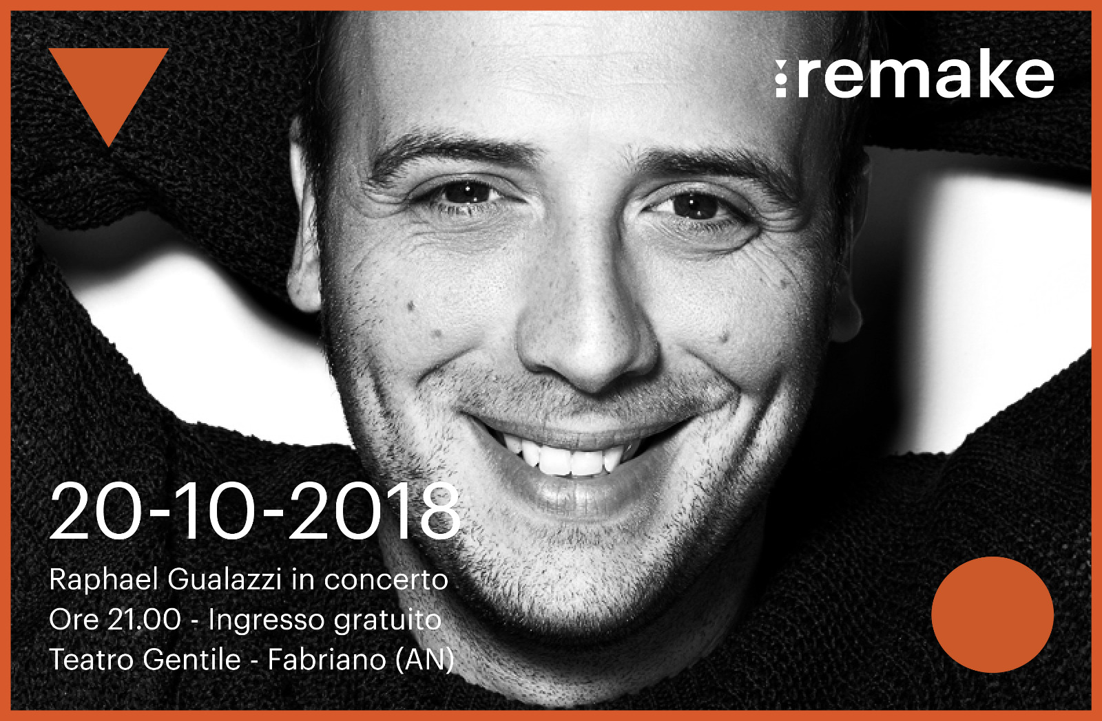 Raphael Gualazzi TRIO in concerto sabato 20 ottobre ore 21