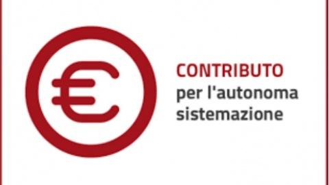 CAS Contributo Autonoma Sistemazione: nuova sezione